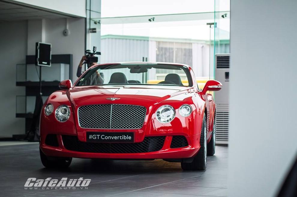 Bentley chính thức khai trương showroom tại Việt Nam