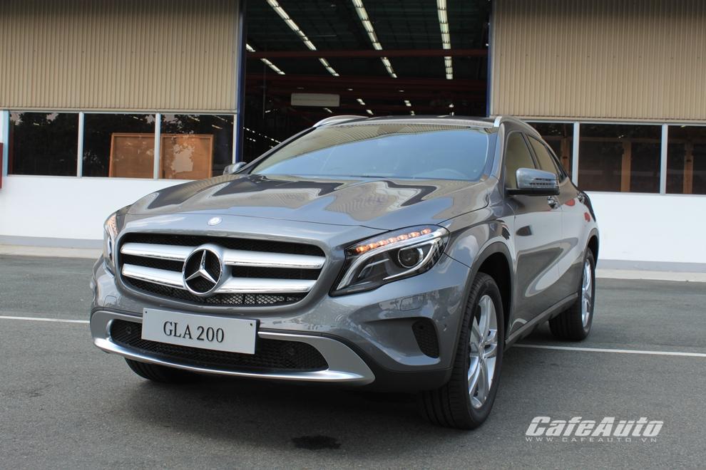 Chi tiết Mercedes GLA vừa ra mắt tại Việt Nam