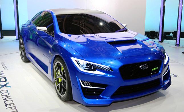 Subaru WRX concept tại New York Motorshow 2014