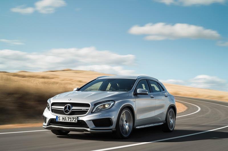 Mercedes-Benz nâng cấp sức mạnh cho CLA45 AMG và GLA45 AMG