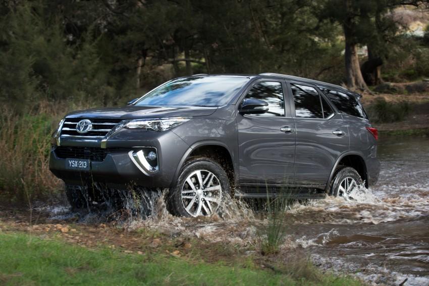 Xe Toyota Fortuner 2016 sẽ được trình làng tại Ấn Độ vào cuối năm nay 2