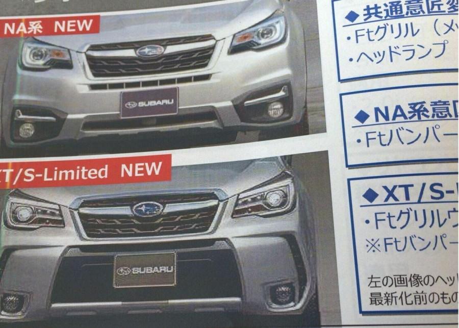 Subaru Forester 2016 lộ hình ảnh và giá bán - ảnh 2