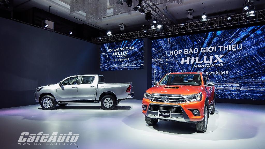 Giá từ 693 triệu đồng, Toyota Hilux 2016 chính thức ra mắt thị trường Việt