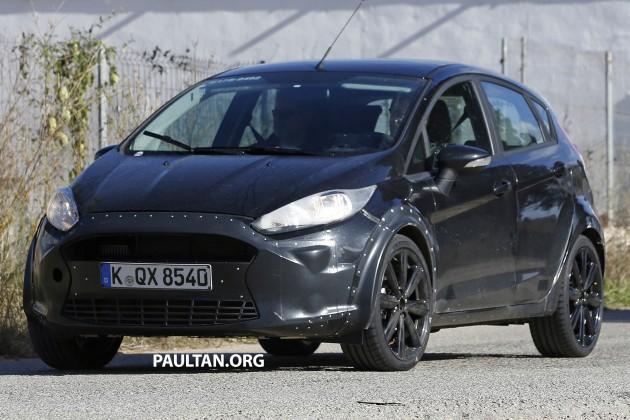 Ford Fiesta 2017 sẽ có kích thước lớn