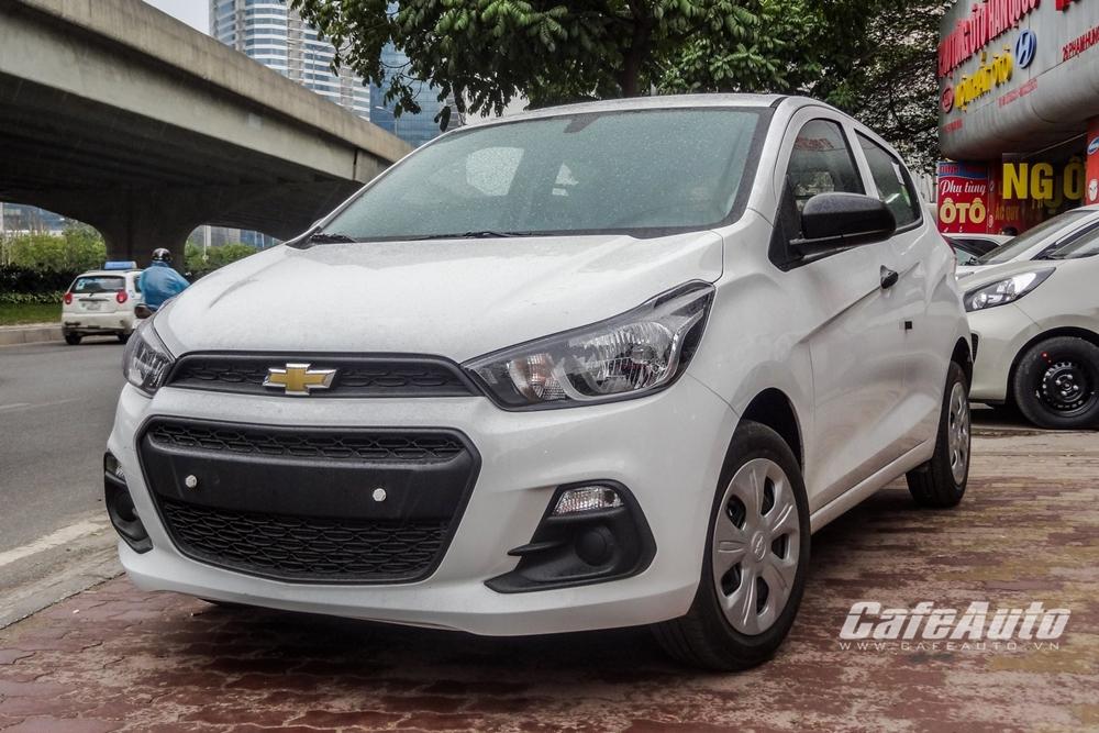 Chevrolet Spark Van 2016 đầu tiên tại Hà Nội có giá 325 triệu đồng