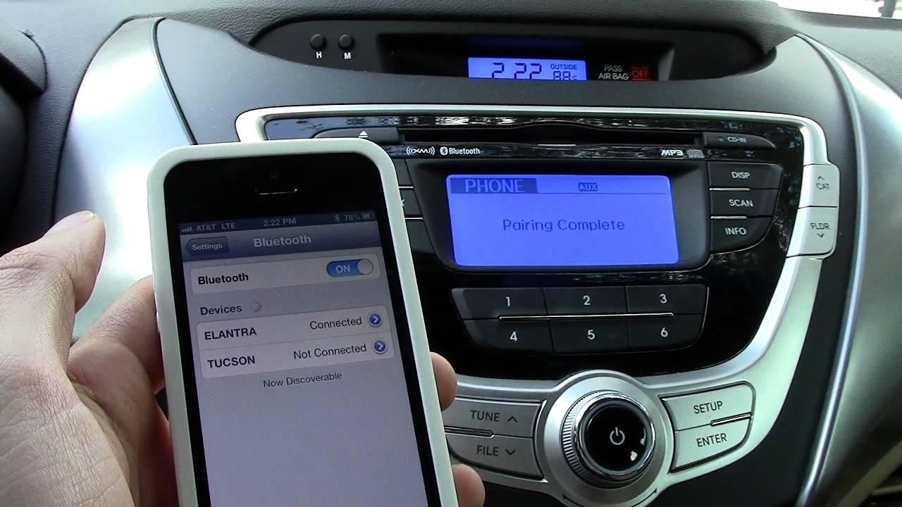 Bluetooth-hands-free-phone
