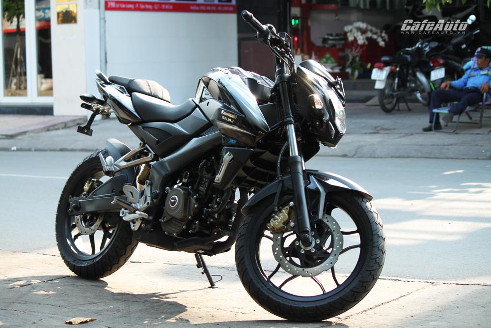 Kawasaki Bajaj Pulsar 200NS 2016 giá 78 triệu về Việt Nam