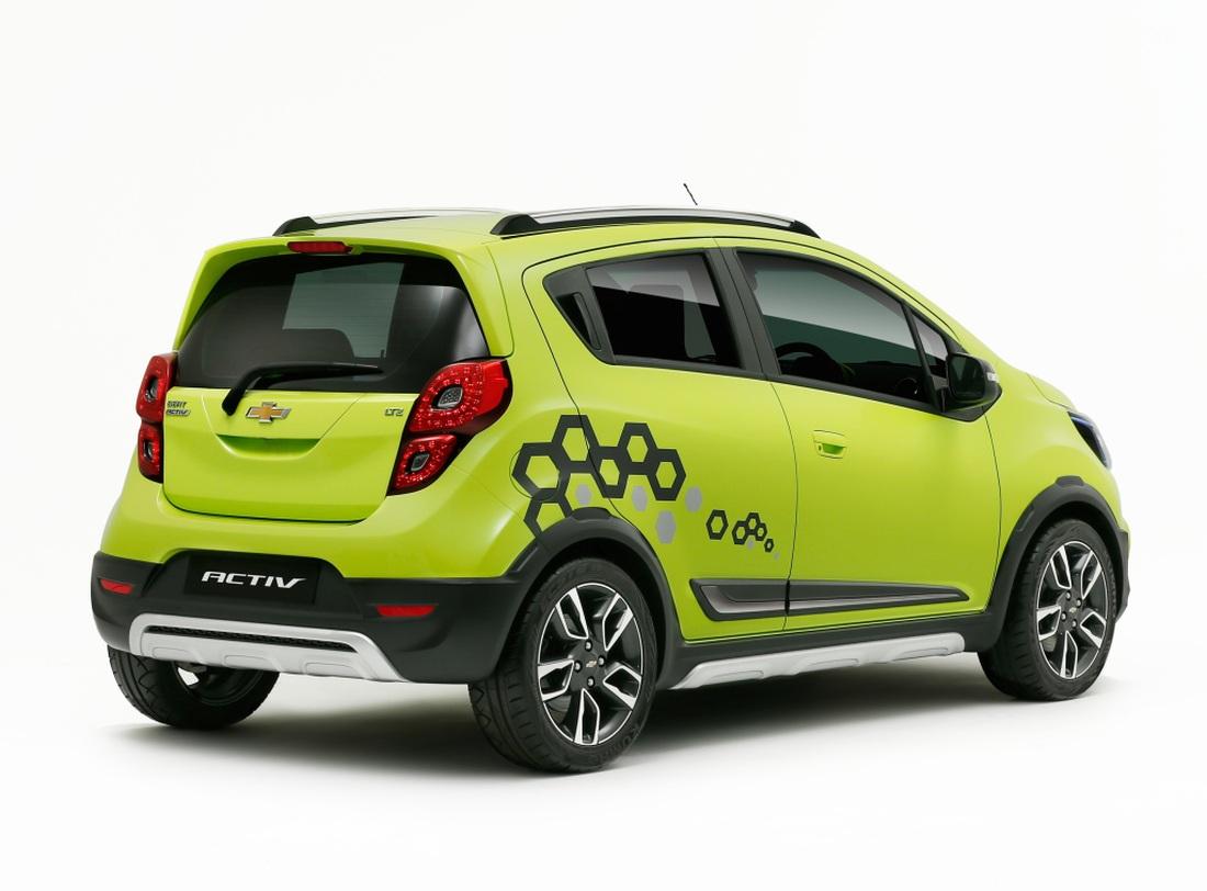 Chevrolet Spark Activ đối thủ mới của Hyundai i20 Active ...