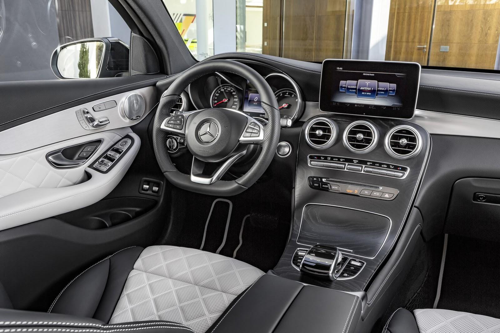 Mercedes-Benz -chính- thức -sản- xuất- mẫu-GLC -Coupe.