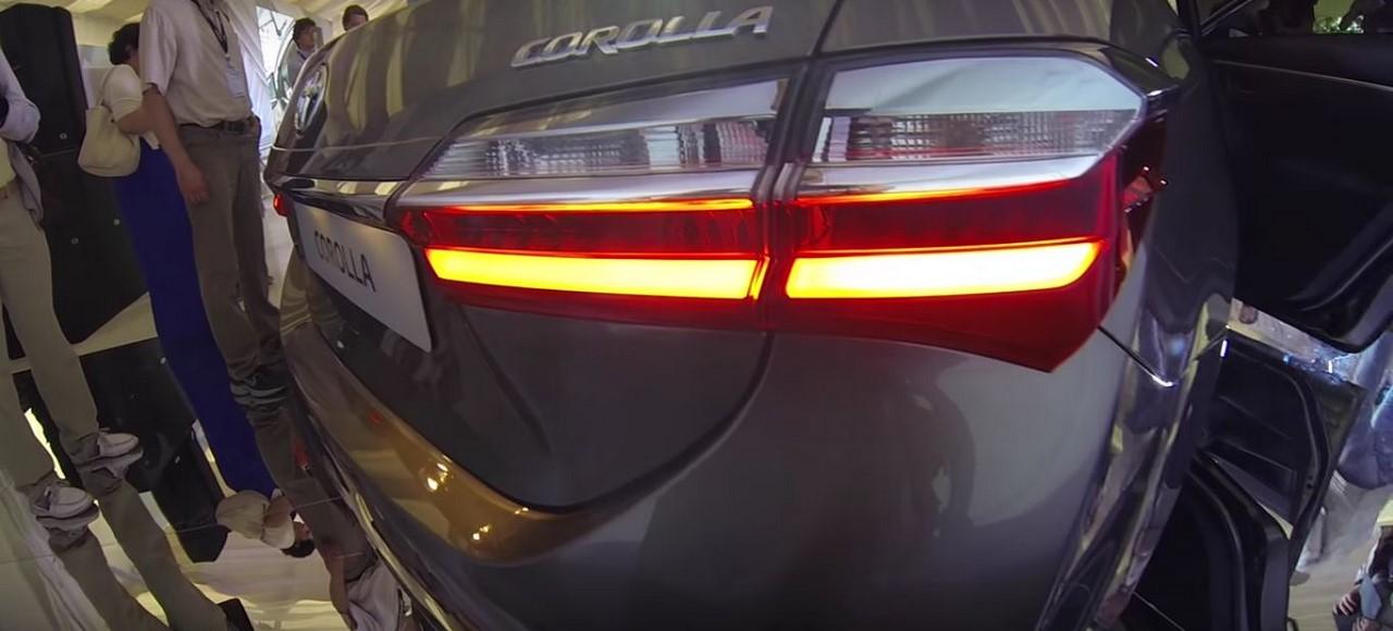 Toyota Altis 2017 sẽ được bày bán vào tháng 8 năm nay 4