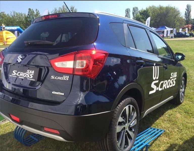 Suzuki S-Cross 2016 chính thức trình làng với thiết kế mới 4