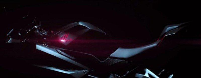 Honda- tung- Teaser -Honda- CBR250RR- 2017