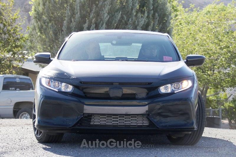 Bắt- gặp- Honda -Civic -Si- trên- đường- thử- nghiệm