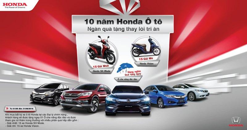 Kỷ-niệm-10-năm-thành-lập-Honda-Ô-tô-dành-nhiều-ưu-đãi-cho-khách-hàng