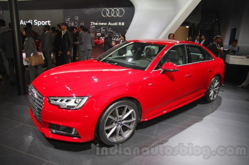 Audi A4 2016 sẽ được bán tại Ấn Độ vào tháng 9 tới 2