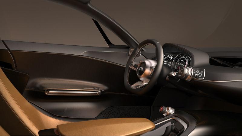 Kia GT 2017 sẽ có 2 phiên bản tiêu chuẩn và thể thao để lựa chọn 4