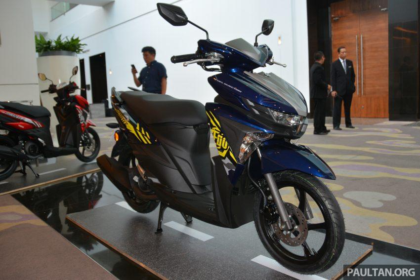 Ra mắt Yamaha Ego Avantiz 2016, mẫu xe tay ga mới với giá 31,5 triệu VNĐ 4