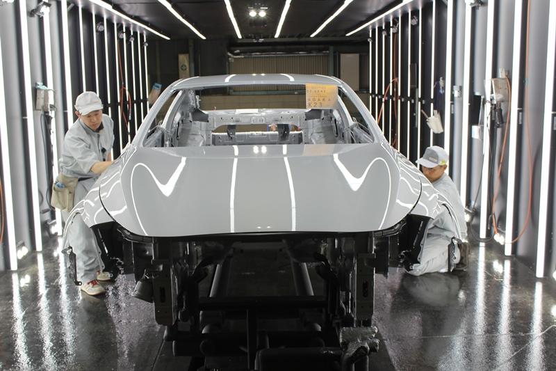 Bên trong nhà máy sản xuất Infiniti Q60, tại Tochigi, Nhật Bản có gì? 2