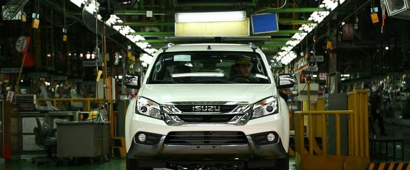 Tham quan nơi sản xuất Isuzu MU-X tại nhà máy Samrong, Thái Lan 2