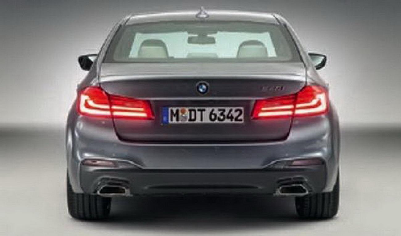 Đánh giá xe BMW 5 Series 2017: nâng cấp thiết kế mạnh ở nội và ngoại thất 4