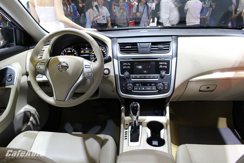 Giá xe Nissan Teana 2017 khởi điểm từ 1,49 tỷ VNĐ tại Việt Nam 2