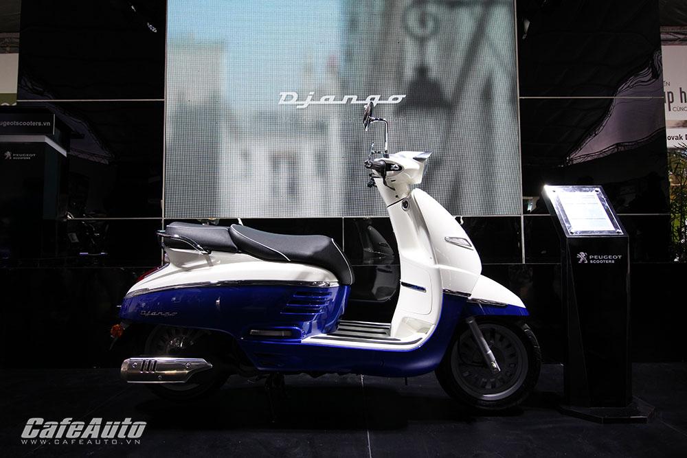 Cận cảnh chi tiết Peugeot Django xe tay ga cao cấp tại Việt Nam 2