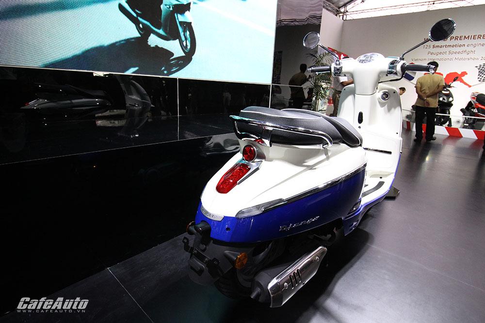 Chi tiết xe tay ga Peugeot Django mới ra mắt tại Việt Nam 6
