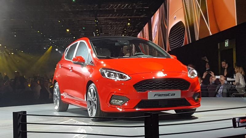 Ford Fiesta 2017 trình làng 4 phiên bản mới với kích thước lớn hơn thế hệ cũ 5
